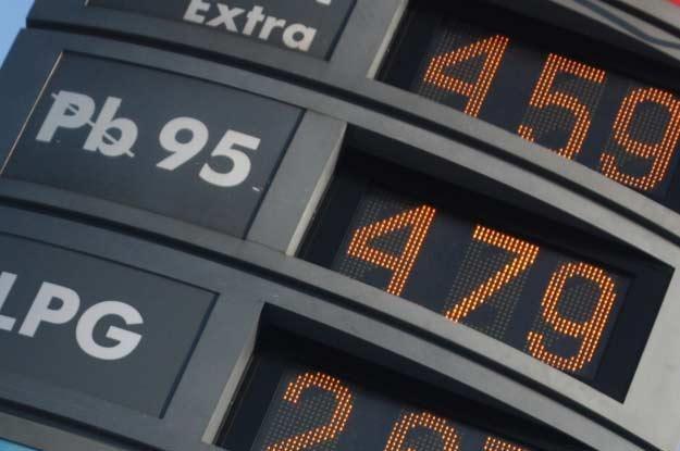 Za litr bezołowiowej trzeba już zapłacić 4,79 euro /INTERIA.PL