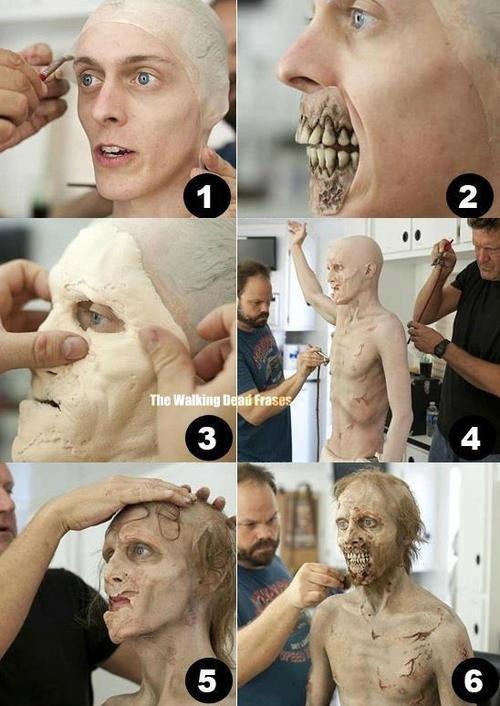 """Za make-up na planie """"Żywych trupów"""" odpowiedzialny jest charakteryzator Greg Nicotero. /materiały prasowe"""