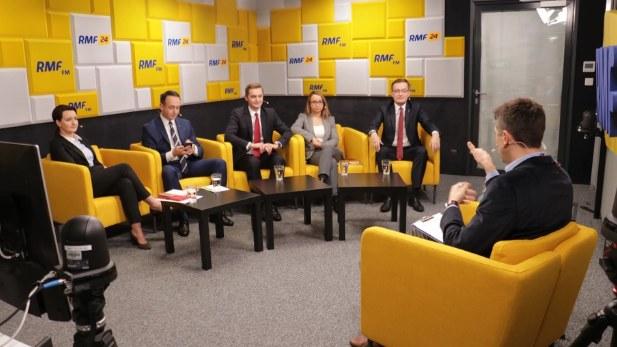 Za nami pięć debat na różne tematy /RMF