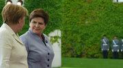 """""""Za naszą granicą toczy się wojna"""". Merkel wsparła działania Polski"""