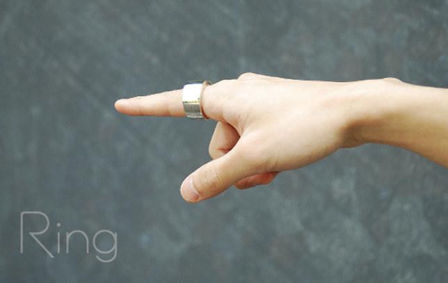 Za pomocą pierścienia sterować można telewizorem, sprzętem audio czy oświetleniem. /materiały prasowe