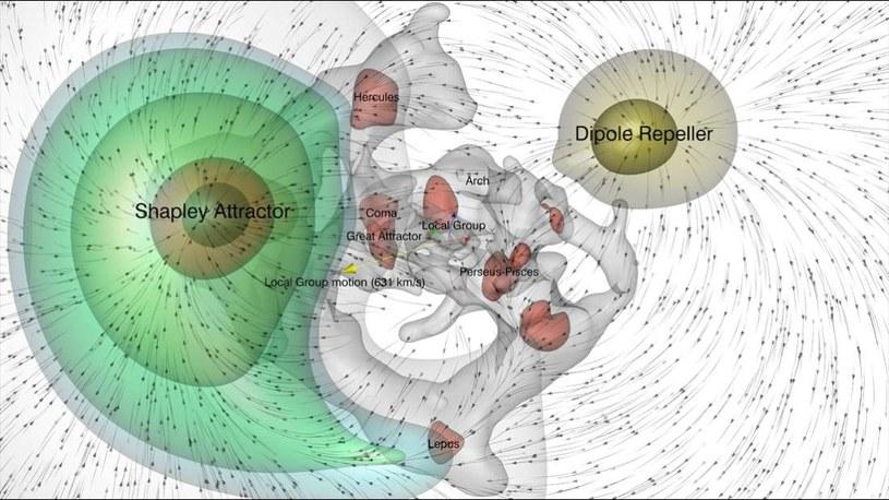Za ruch we wszechświecie odpowiada przyciąganie i odpychanie /materiały prasowe