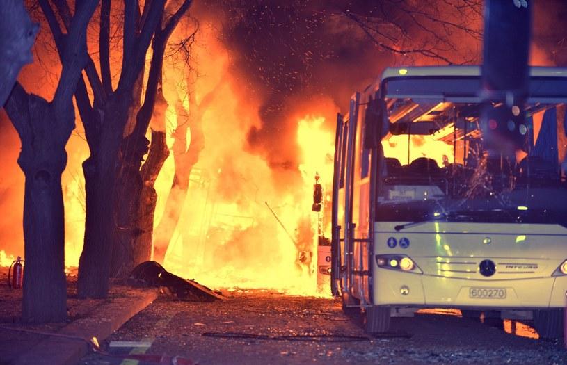 """Za zamachem w Ankarze stała grupa """"Sokoły Wolności Kurdystanu"""" /PAP/EPA"""