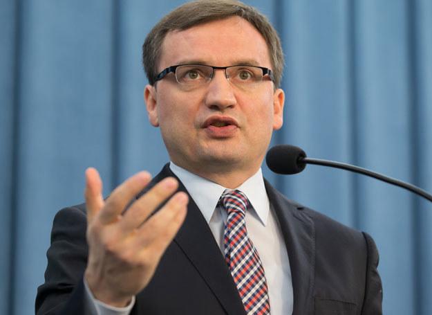 - Za zmiany odpowiada Donald Tusk - powiedział Ziobro /Krystian Maj/FORUM  /Agencja FORUM