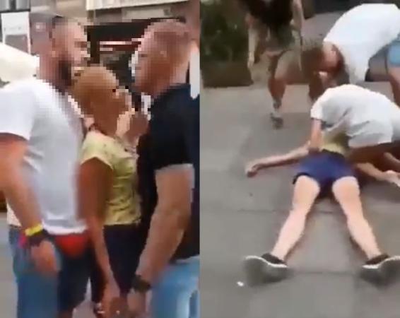 Zaatakowana kobieta ma złamane kości twarzoczaszki. /Twitter /materiał zewnętrzny