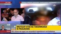 Zaatakowany taksówkarz: zapytał czy wydam ze 100 zł. Gdy wyciągnąłem pieniądze przystawił mi nóż