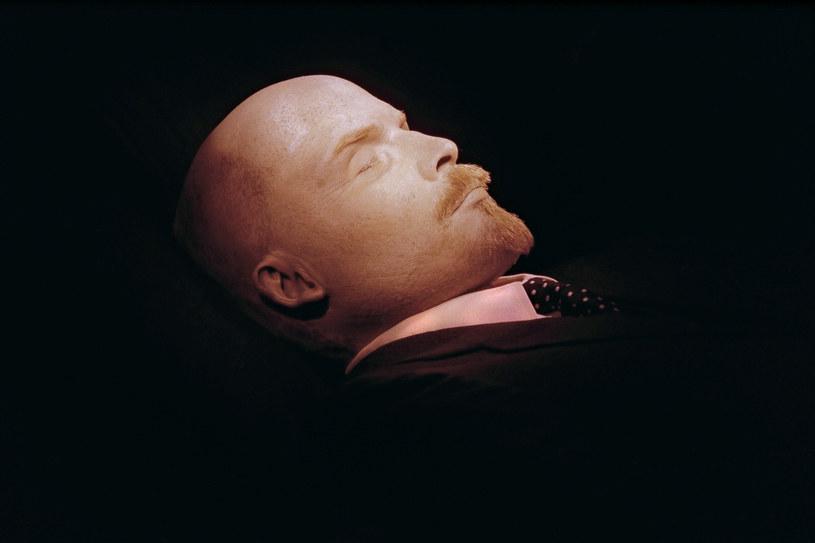 Zabalsamowane ciało Lenina w mauzoleum /AFP