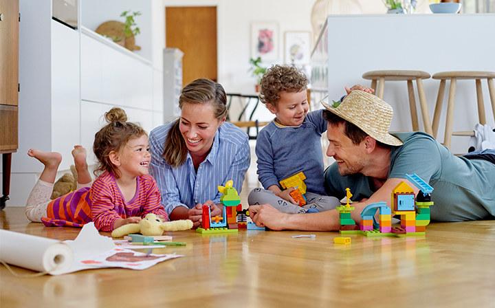 Zabawa z rodzicami /materiały prasowe