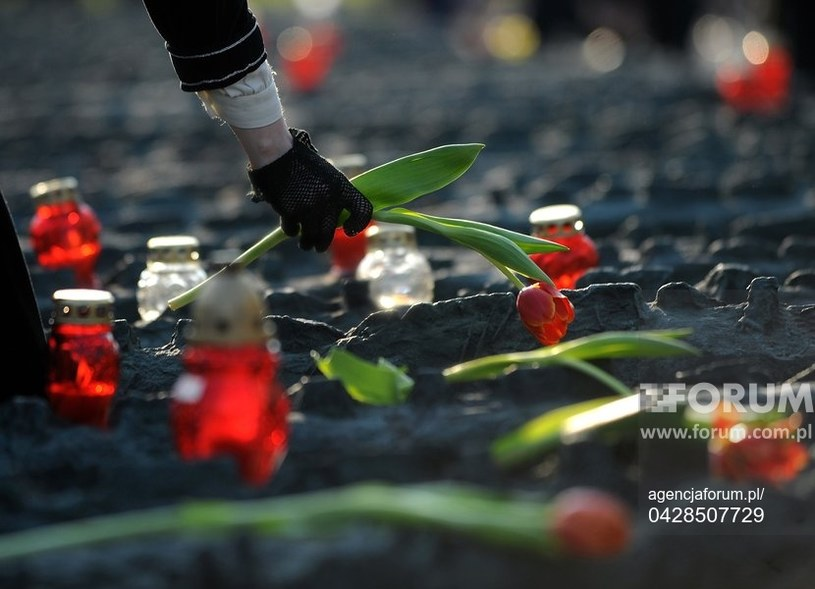 """""""Zabici w Kalininie, pochowani w Miednoje. Księga pamięci polskich jeńców wojennych"""" /Szymon Laszewski /Agencja FORUM"""