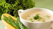 Zabielana zupa szparagowa