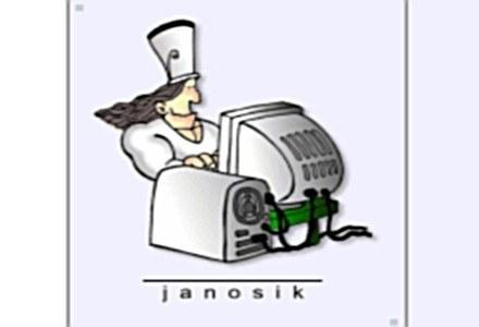Zabiera ZUS-owi i daje internautom - Janosik /materiały prasowe
