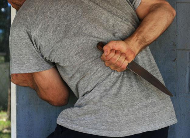 Zabity mężczyzna chciał zranić policjanta/ Zdjęcie ilustracyjne /123RF/PICSEL