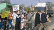 Ząbkowice Śląskie: Blokadą w urzędniczą indolencję
