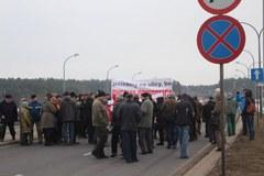 Zablokowali drogę TIR-om. Olsztyn walczy o obwodnicę