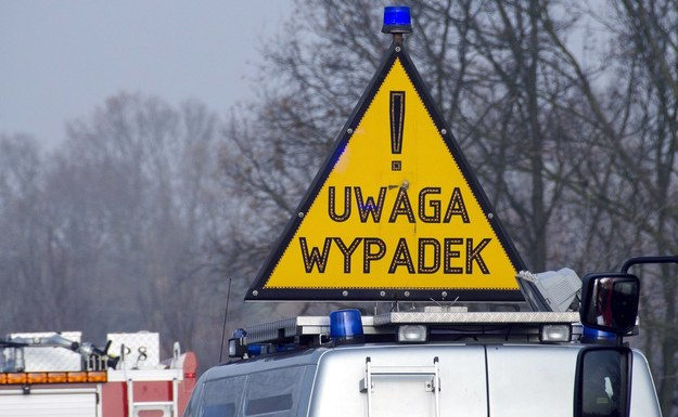 Zablokowana autostrada A2 w stronę Warszawy po zderzeniu czterech aut (zdjęcie ilustracyjne) /Łukasz Grudniewski /East News
