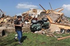 Zabójcze tornado w Missisipi