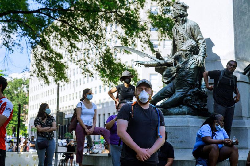 Zabójstwo George'a Floyda spoowdowało liczne protesty w całych Stanach Zjednoczonych /123RF/PICSEL