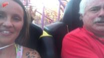 Zabrała tatę na rollercoaster. I się zaczęło