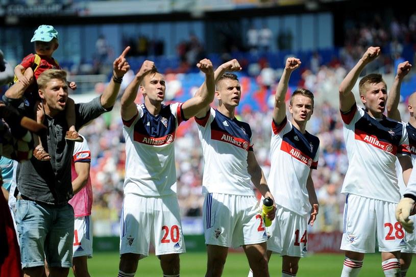 Zabrzanie po zaledwie roku mogą świętować awans do Ekstraklasy /Newspix