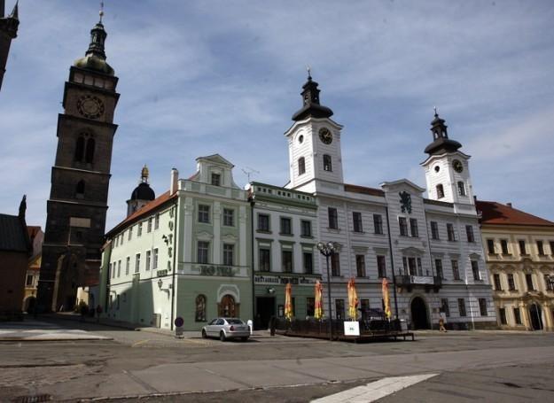 Zabytkowe miasto Hradec Kralove  /Reporter