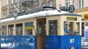 Zabytkowy tabor na ulicach Krakowa