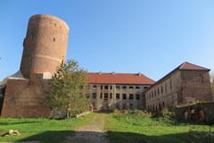 Zabytkowy zamek w Swobnicy