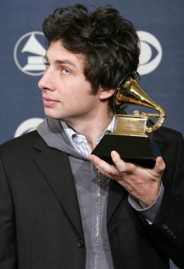 """Zach Braffz nagroda za ścieżkę dźwiękową do filmu """"Powrót do Garden State"""" /AFP"""