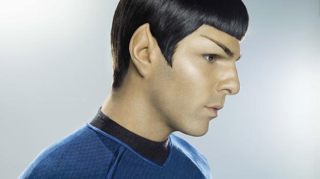 Zachary Quinto jako Spock (we własnej osobie i z własnymi włosami). /materiały dystrybutora