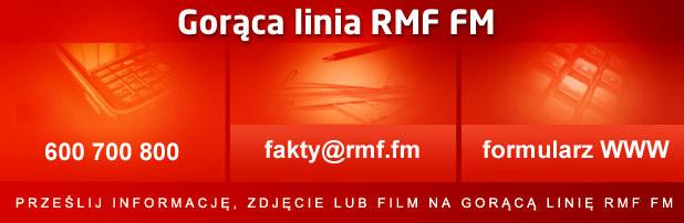 Zachęcamy do korzystania z Gorącej Linii RMF FM. /RMF