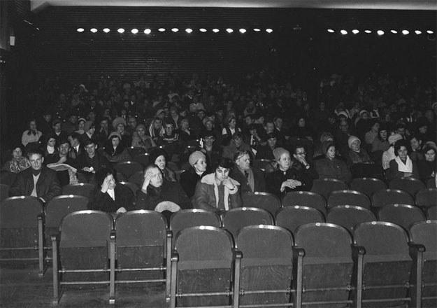 Zachodnie filmy mogły być niezrozumiałe dla widza z prowincji /Z archiwum Narodowego Archiwum Cyfrowego