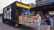 Zachodnie towary z ciężarówki