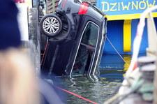Zachodniopomorskie: Auto wpadło do wody. W środku były cztery osoby