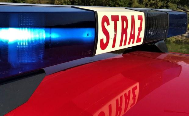 Zachodniopomorskie: Pożar i wybuch gazu. 5 strażaków rannych