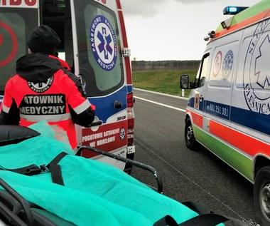 Zachodniopomorskie: Zderzenie autobusu z ciężarówką. 19 rannych, wśród nich dzieci