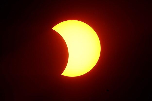 Zaćmienie Słońca 2020 /PAP/EPA/SEBASTIAO MOREIRA /PAP/EPA