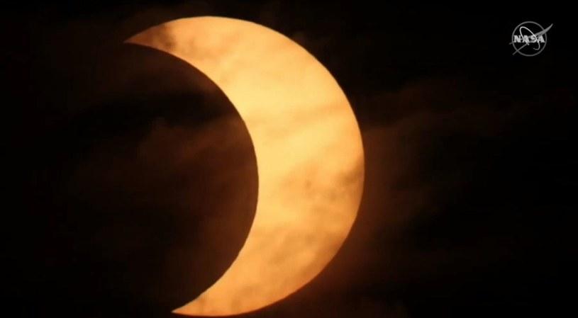 Zaćmienie Słońca 2021 /NASA /materiały prasowe