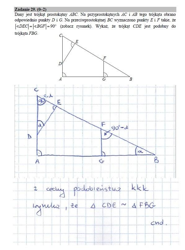 Zadanie 29 rozwiązanie /INTERIA.PL