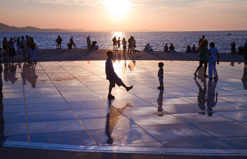 Zadar. Zachód słońca nad Adriatykiem /123RF/PICSEL