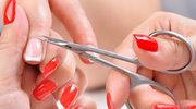 Zadbane skórki wokół paznokci