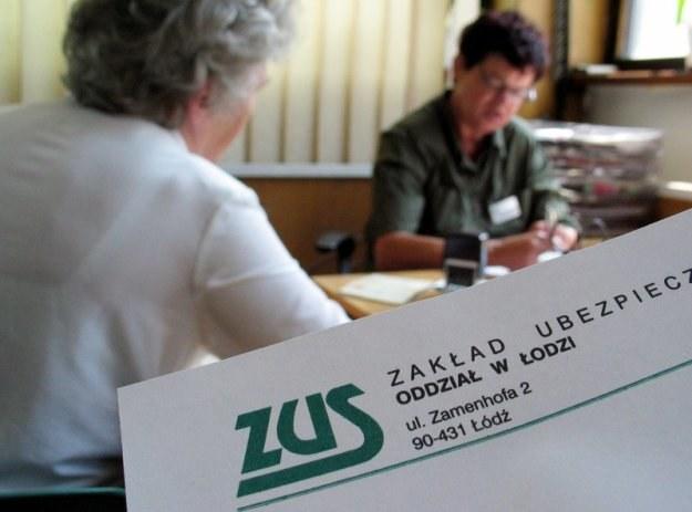 Zadłużenie ZUS w bankach komercyjnych wynosi 1 mld 510 mln zł /fot. Adam Słowikowski /Reporter