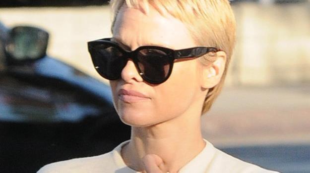 Żadna z gwiazd w tym roku nie zmieniła swojego wizerunku aż tak drastycznie jak Pamela Anderson... /materiały prasowe