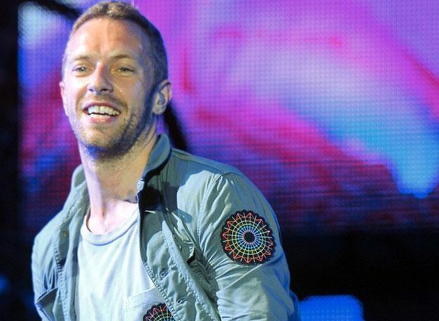 Zadowolony Chris Martin. W końcu jego piosenka otwiera naszą składankę... /AKPA