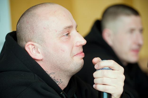 Zadowolony Peja - fot. Marek Lapis /Agencja FORUM