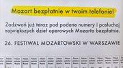 Zadzwoń i posłuchaj... Mozarta
