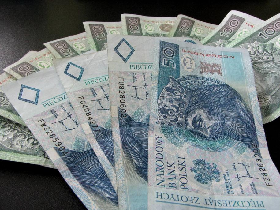 Zagadkowa kradzież pół miliona złotych w Toruniu. Suma zniknęła z kantoru wymiany walut w centrum handlowym. Zdjęcie ilustracyjne /Monika Kamińska /RMF FM