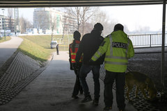 Zaginięcie Piotra Kijanki. Przeszukano już ok. 25 km koryta Wisły