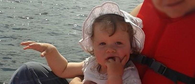 Zaginiona 2-letnia Wiktoria /RMF/Policja