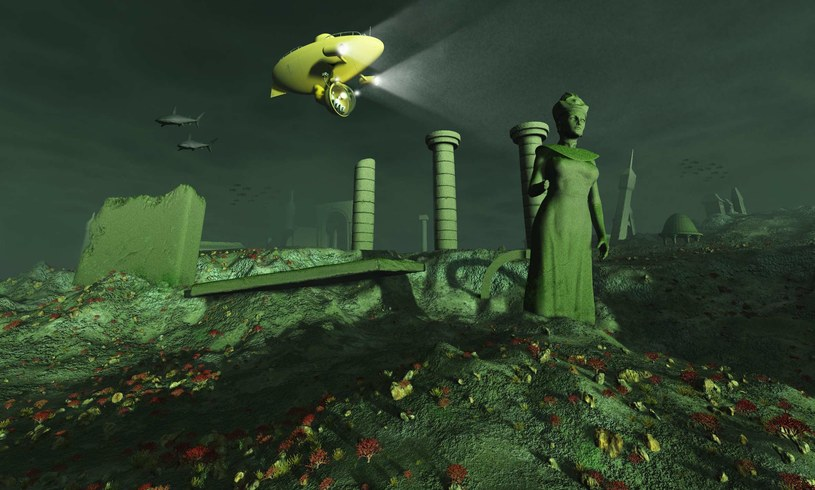 Zaginiona Atlantyda działa na wyobraźnię badaczy od wielu lat /123RF/PICSEL