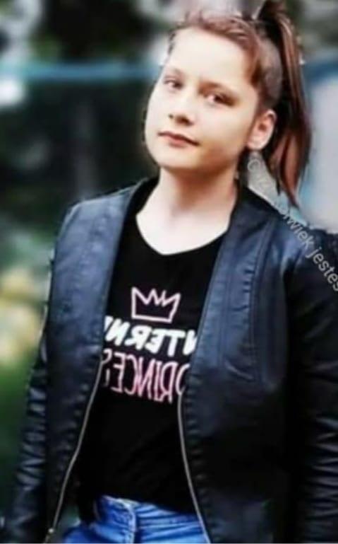 Zaginiona Emilia Lipińska (Źródło: KMP w Gdyni) /Policja