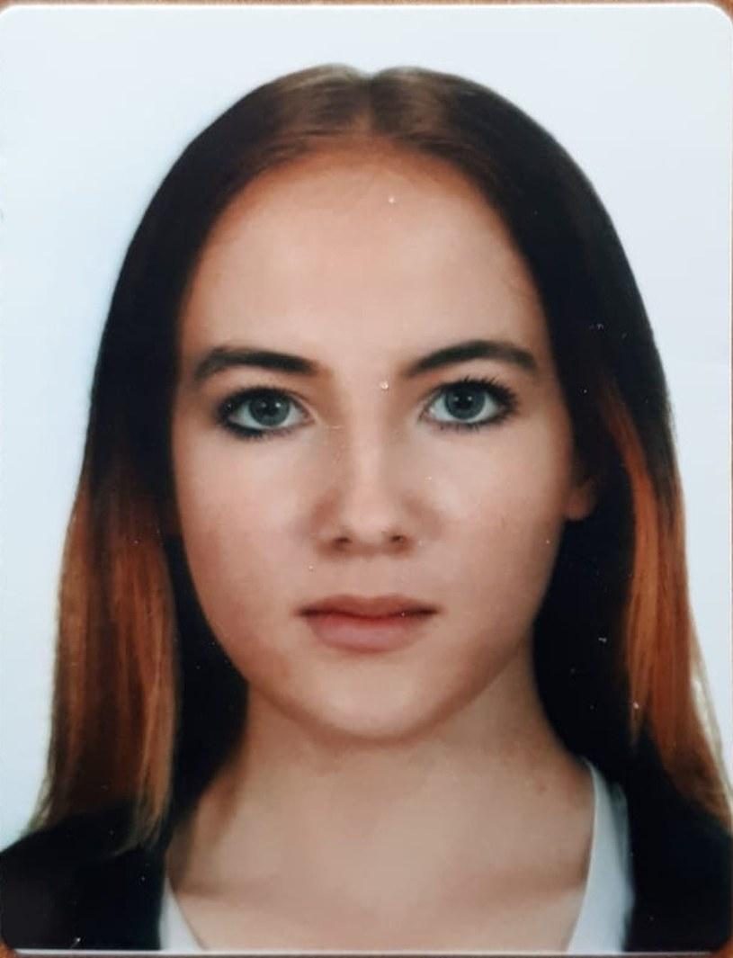 Zaginiona Joanna Gibka /lodzka.policja.gov.pl /